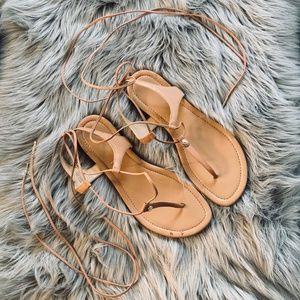 "Michael Kors-  lace up gladiator sandals - ""Sofia"""